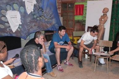 """SOS Madrid, en la CSOA La Quimera, mesa debate """"CIE voces desde dentro"""""""
