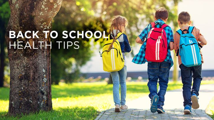 Back to School Health Tips Feature