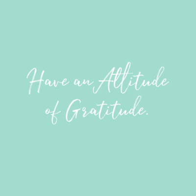 benefits of gratitude: quote