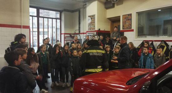 Posjet Vatrogasnoj Postaji