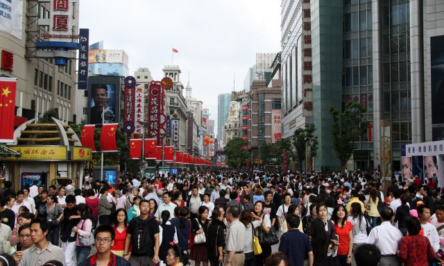 Image result for china street full of people