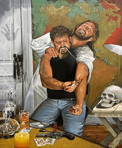 Jesus does drugs