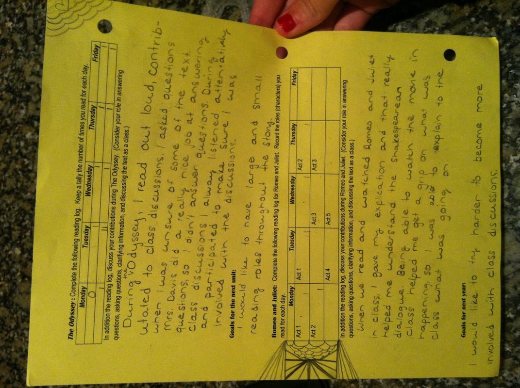 Reflection Worksheet