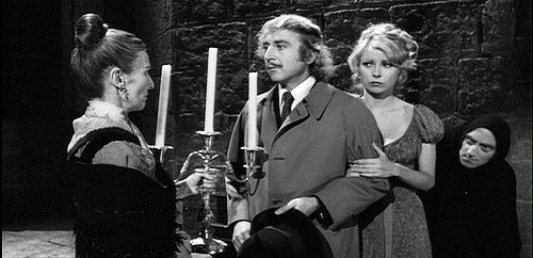 Image result for young frankenstein stay close to the candles