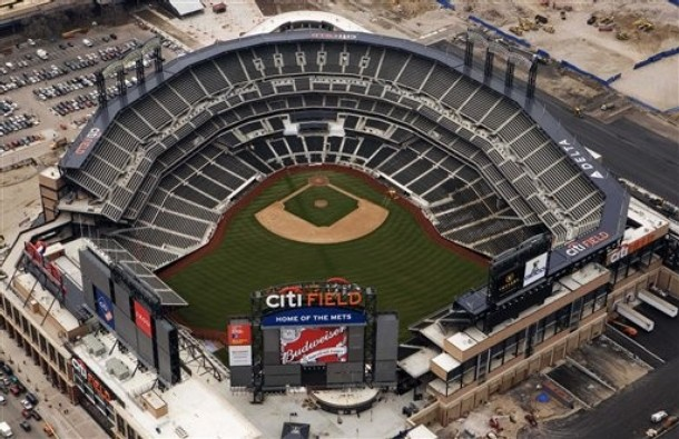 The Yankees look to take over the Mets' new cavernous home, Citi Field