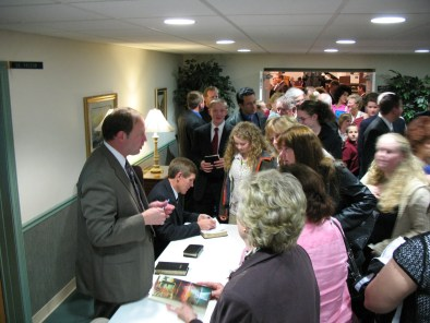 Rick Barry - book signing