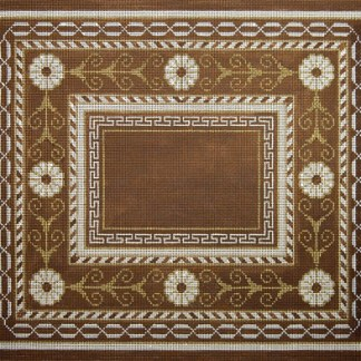 Large Brown Borders with Chain Tallit