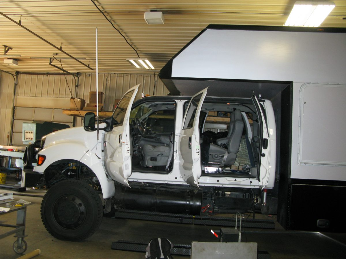 six door cab on the Ford F650