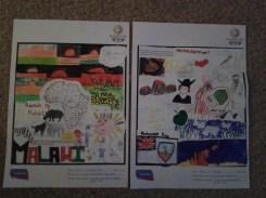 Malawi & Montserrat posters