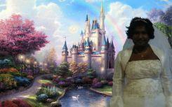 Squirrel the fairytale princess.