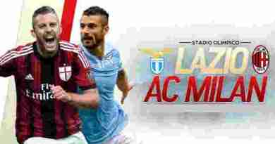 Prediksi Akurat Lazio vs AC Milan 10 September 2017