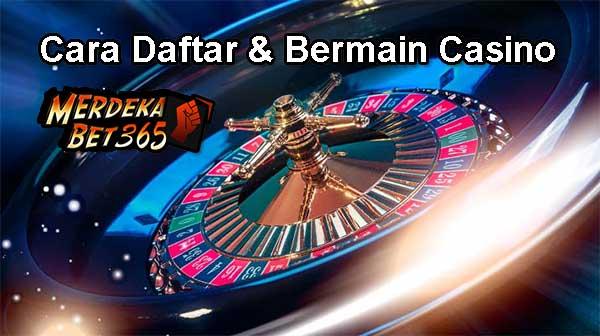 Cara Daftar dan Bermain Live Casino Online