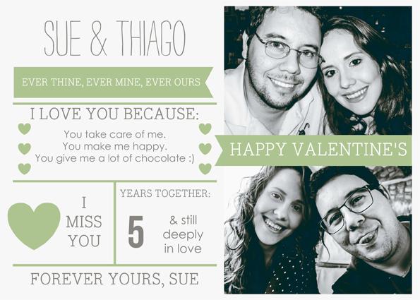 Feliz Dia dos Namorados - Sue Brandao