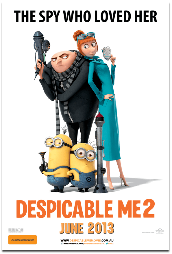 Sessão Cinema - Despicable Me 2 - Meu Malvado Favorito - Sue Brandao