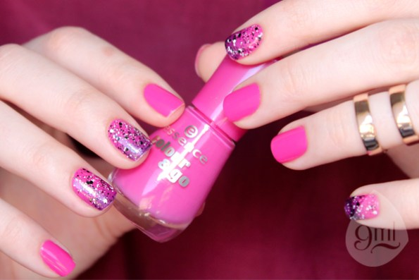 Ultimate Pink - Essence - Ativa - Ludurana - Cleary Spotted - Maybelline - 9ml - Sue Brandao