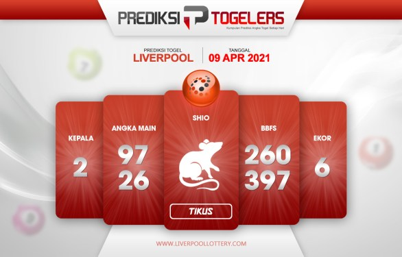 Ramalan Togelers LIVERPOOL 9 April 2021 Jumuah