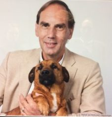 Jan Rothuizen en zijn hond