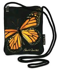 Monarch butterfly handbag