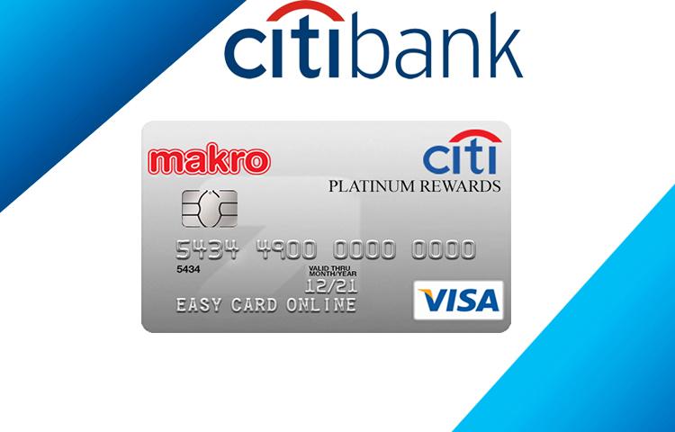 บัตรเครดิตซิตี้ แม็คโคร แพลตตินั่ม รีวอร์ด (Citi Macro Platinum Reward Credit Card) 1