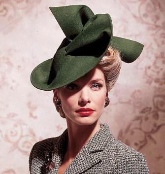 cappello stile vintage