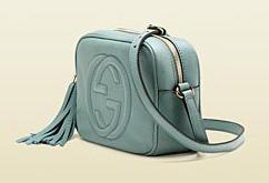 Disco bag Soho - blu chiaro