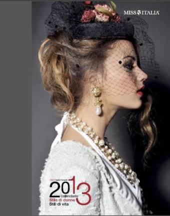 Calendario Miss-Italia 2013, viaggio nella moda con Giusy Buscemi