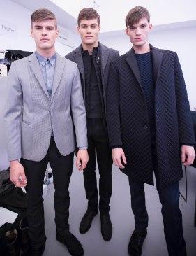 Calvin Klein Collection, fall 2013 - models