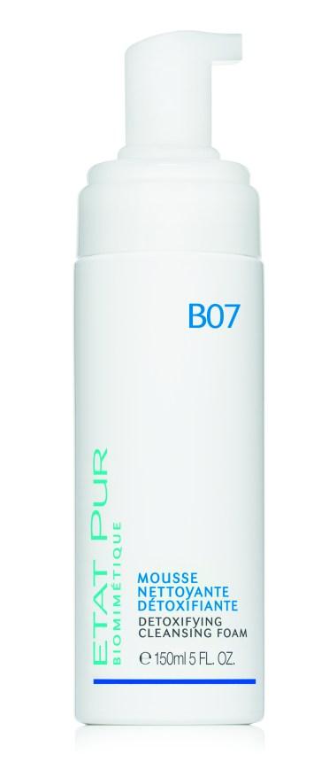 ETAT PUR B07cosmetico Biomimetico puro Mousse Detergente Detossificante