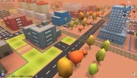 3D City (Micropolis) : gros plan sur le commissariat