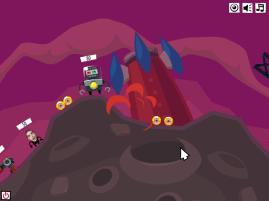 Manqué de peu (Crazy Planets par Playfish)
