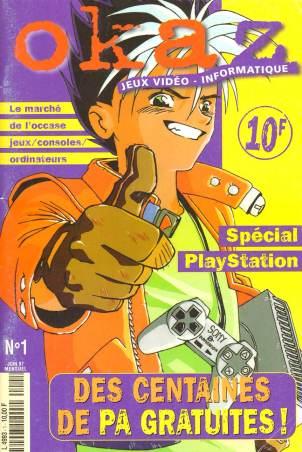 Couverture Okaz numéro 1 (Juin 97)