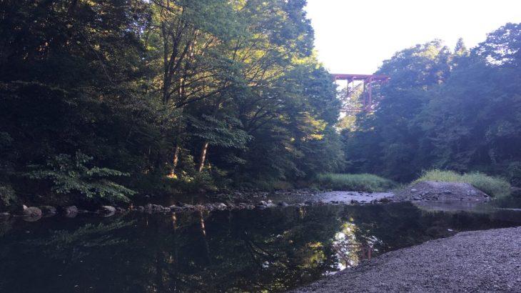 裏山口駅から徒歩5分のSLの走っている景色の見られる秩父「橋立川キャンプ場」に親子80人で行ってきました!