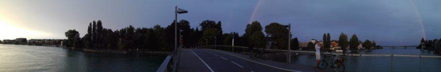 Bodensee Panorama Konstanz