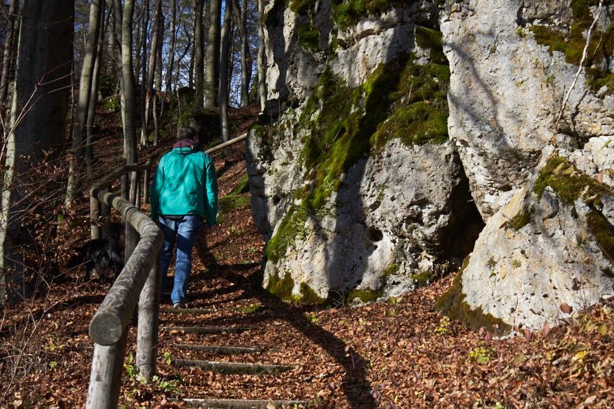 Weg hinauf zum Berghäusle