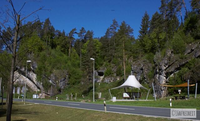 Kletterinformationszentrum bei Obertrubach