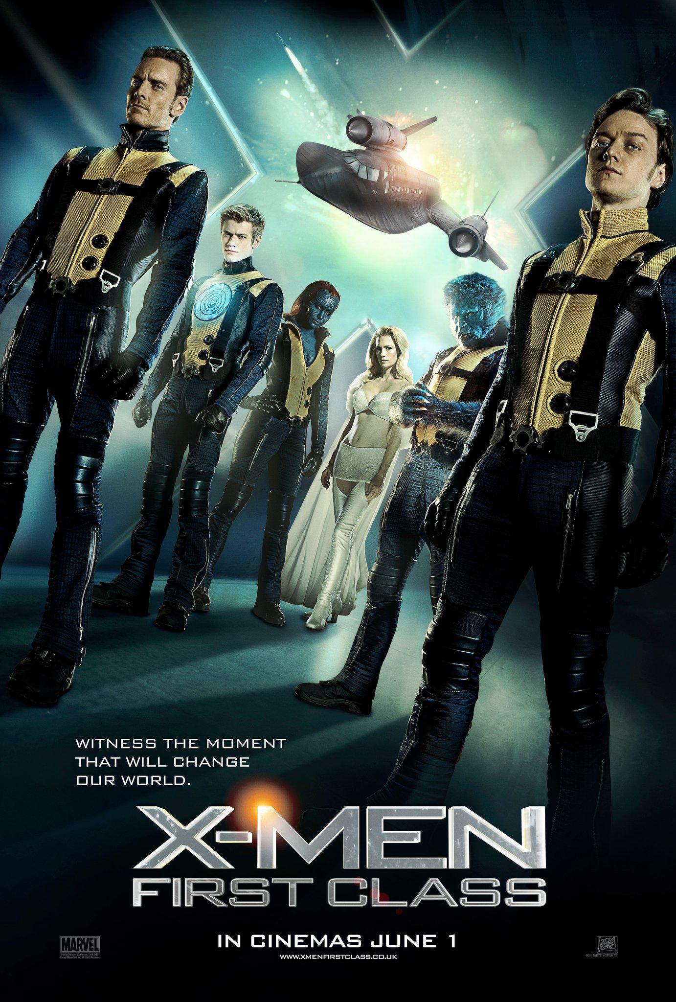 Poster do filme X-Men: Primeira Classe