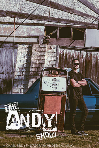 The Andy Show live in The Boat Shed