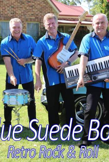 Blue Suede Boppers