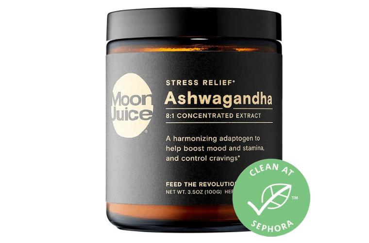 Jar of Moon Juice Ashwagandha Powder