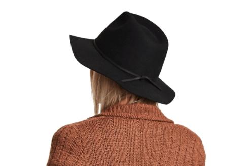 brixton wesley wool fedora