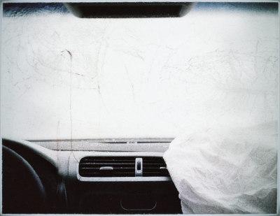 Car Crash Ctudies, Untitled # 7. 2009. Lightbox #2. 127x157 cm. Ed 1/1+1AP.