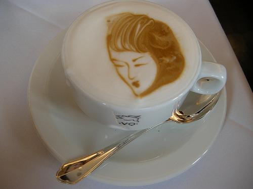 tumblrlicious: cappuccino art