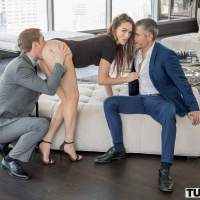 It takes two dicks to satisfy Tori Black