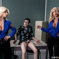 Fucking His Way Into the U.S.A with Brittany Andrews, Nicolette Shea