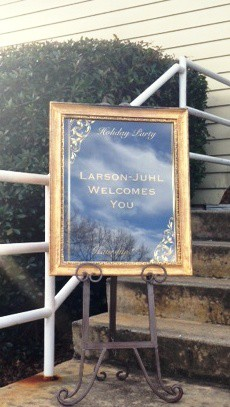 Larson and Juhl's Holiday Party! 173 Carlyle House Historic Downtown Norcross