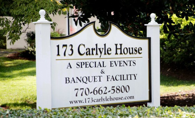 Bill and Kerin's Wedding 173 Carlyle House Historic Downtown Norcross