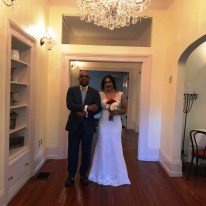 Chanelle and Kristophor's Wedding 173 Carlyle House Historic Downtown Norcross
