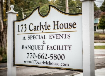 Anna and Gary's Wedding 173 Carlyle House Historic Downtown Norcross