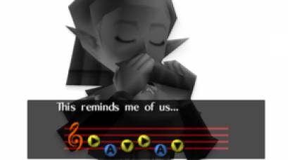 Zelda Plays the Ocarina