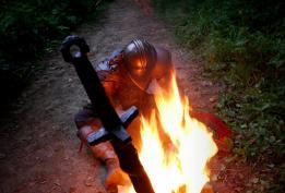 """The """"Dark Souls"""" bonfire"""